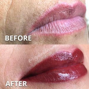 pmu-permanent-lip-color-miami-before-after