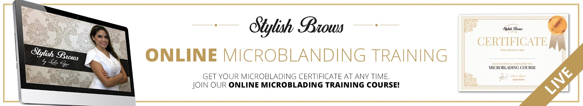 Microblading Training Online | Stylish Brows